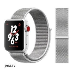 Accessories - ❤NEW Silver White Sport Loop Strap For Apple Watch